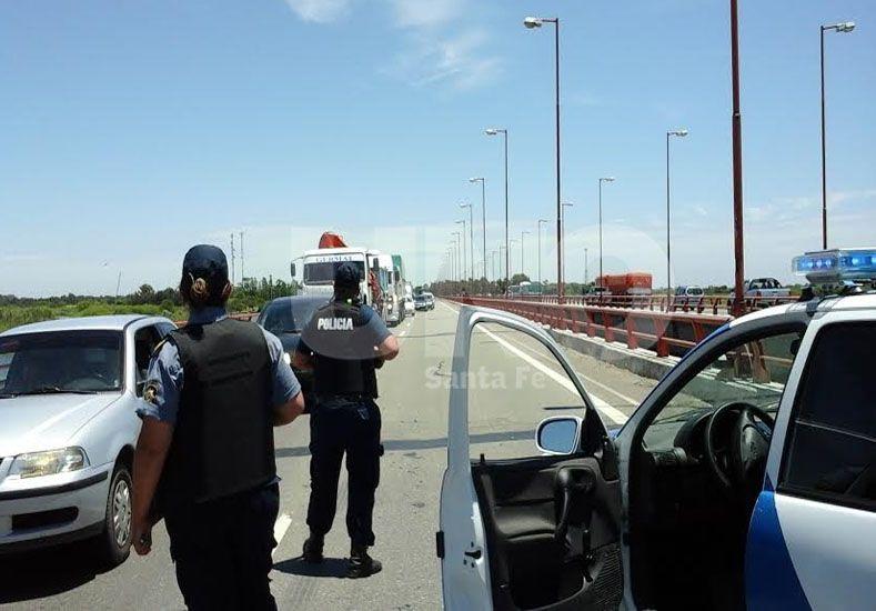 Operativos cerrojo en las rutas santafesinas