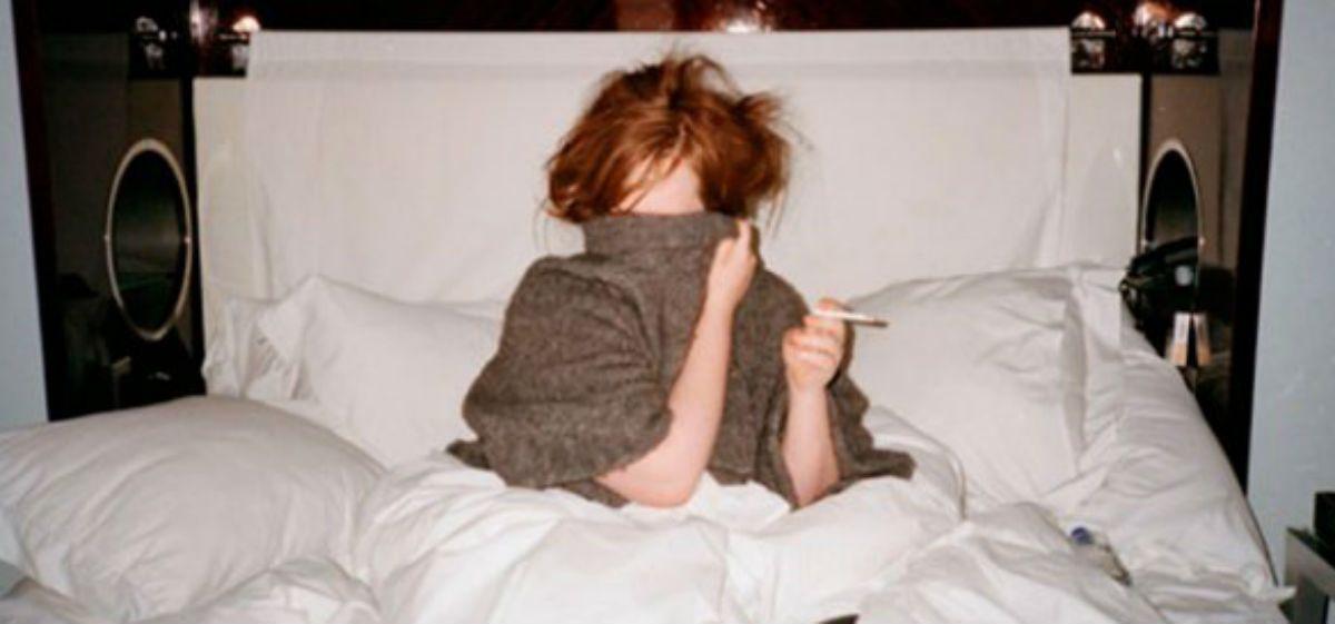 Escracharon a Adele con fotos íntimas