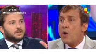 Diego Brancatelli se cruzó fuerte con Paulo Vilouta