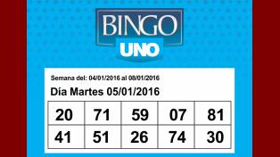 Bingo UNO Día 5 de enero