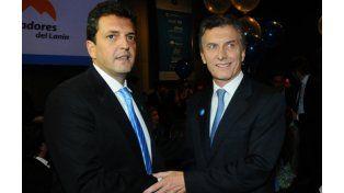 Sergio Massa acompañará a Mauricio Macri al foro económico de Davos