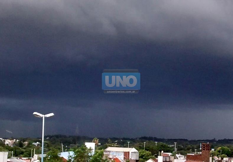 El cielo de Paraná