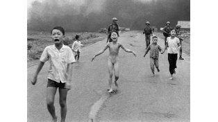 La fotografía tomada por Nick Ut en Vietman (1972) fue galardonada con el premio Pulitzer.
