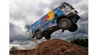 Panorama gris para la segunda etapa del Rally Dakar