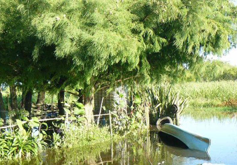 Se ahogó un hombre en una zona inundada