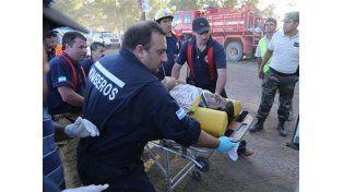 Nuevo y estremecedor video del primer accidente del Dakar