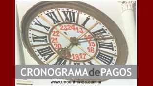 Este sábado se acreditó el primer tramo del Cronograma de Pagos