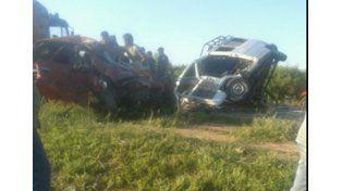 Seis personas murieron y nueve resultaron heridas en un choque frontal