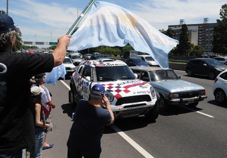 Largada simbólica del Rally Dakar