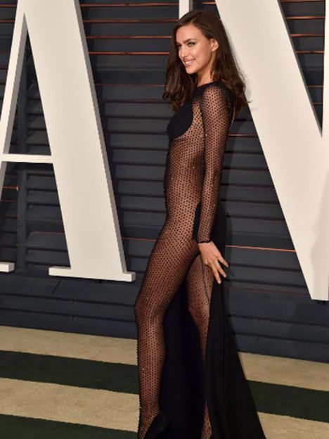 Irina Shayk en la fiesta de Vanity Fair post Oscars el 22 de febrero.