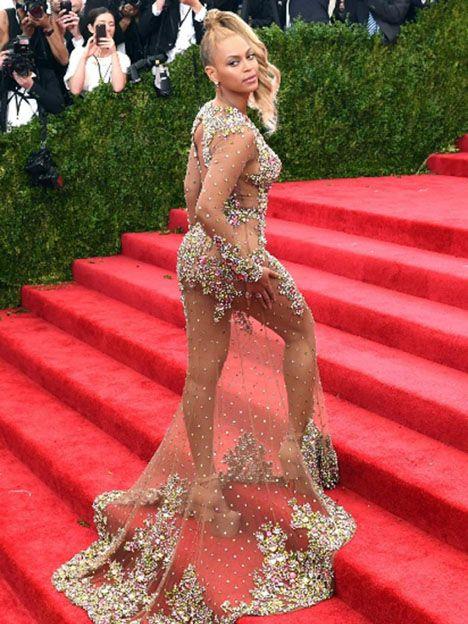 Beyonce en la MET gala