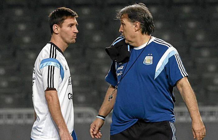 """Martino no ve """"factible"""" que Messi pueda jugar los Juegos Olímpicos de Río 2016"""