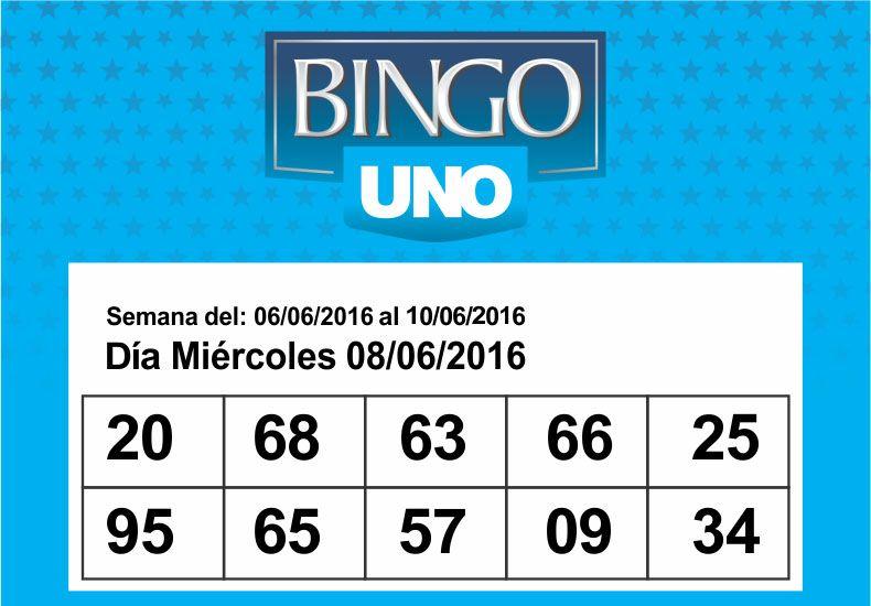 Bingo UNO: bases y condiciones