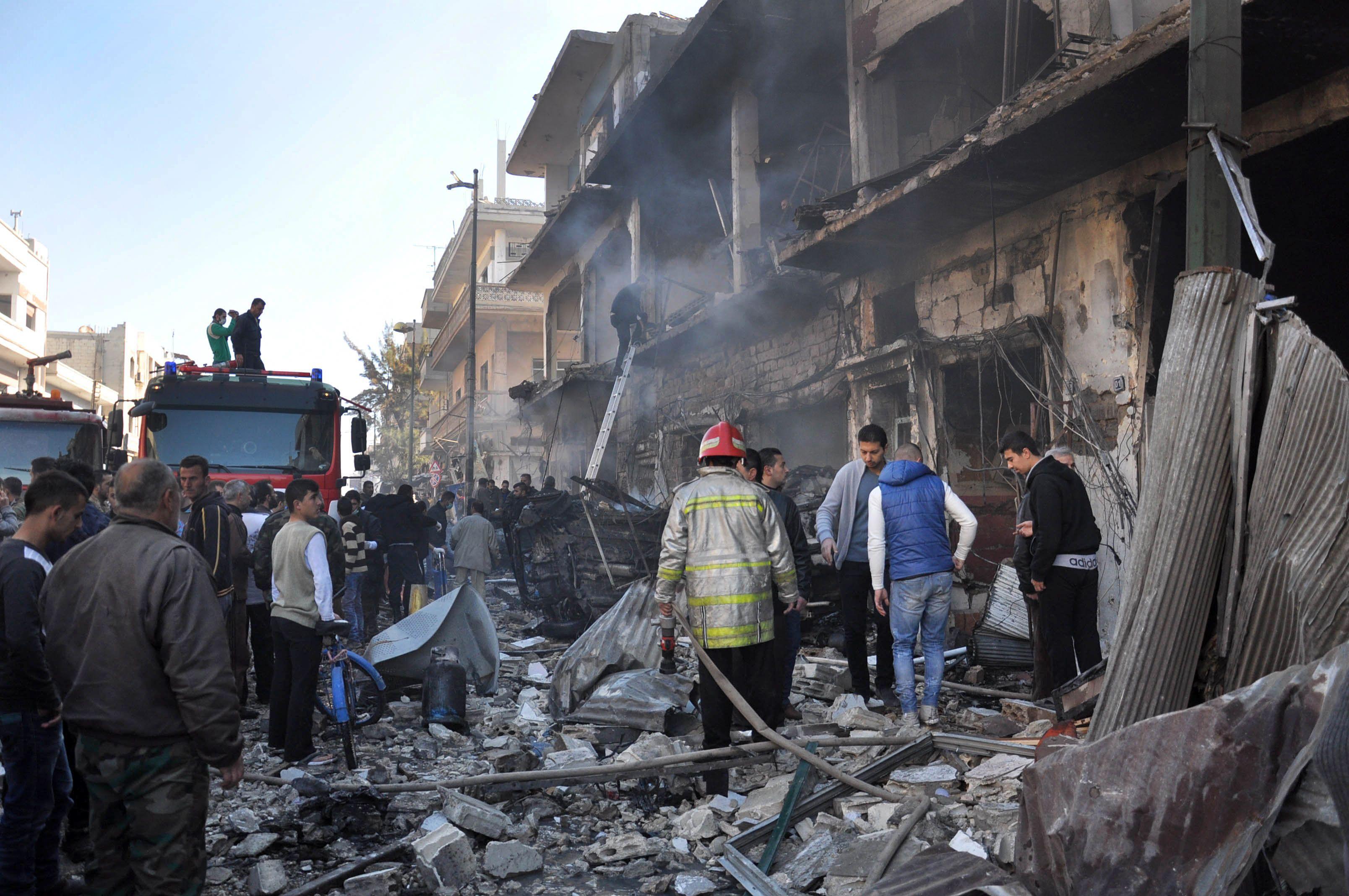 La guerra de Siria dejó más de 20 mil civiles muertos en 2015