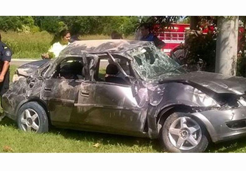 Dos accidentes en la ruta provincial 11