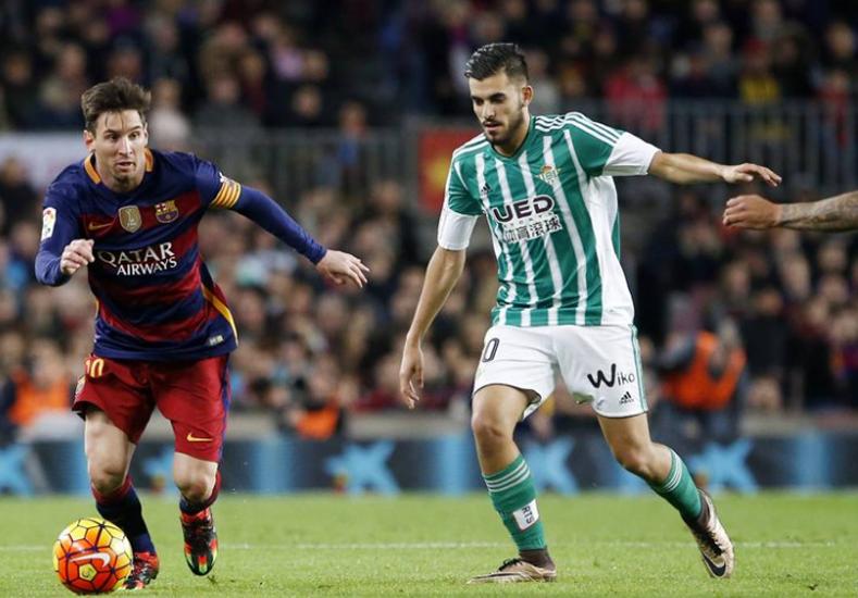 Messi llegó a los 500 partidos con el Barcelona