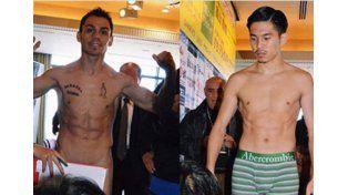 El argentino Juan Reveco subió desnudo al pesaje