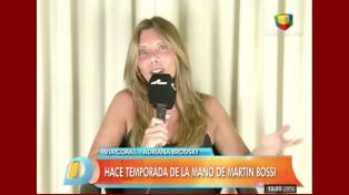 Adriana Brodsky deschavó los amoríos de Martín Bossi