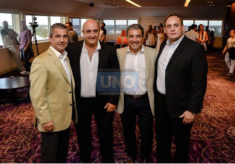 Presencias. Los empresarios Mariano Castillo