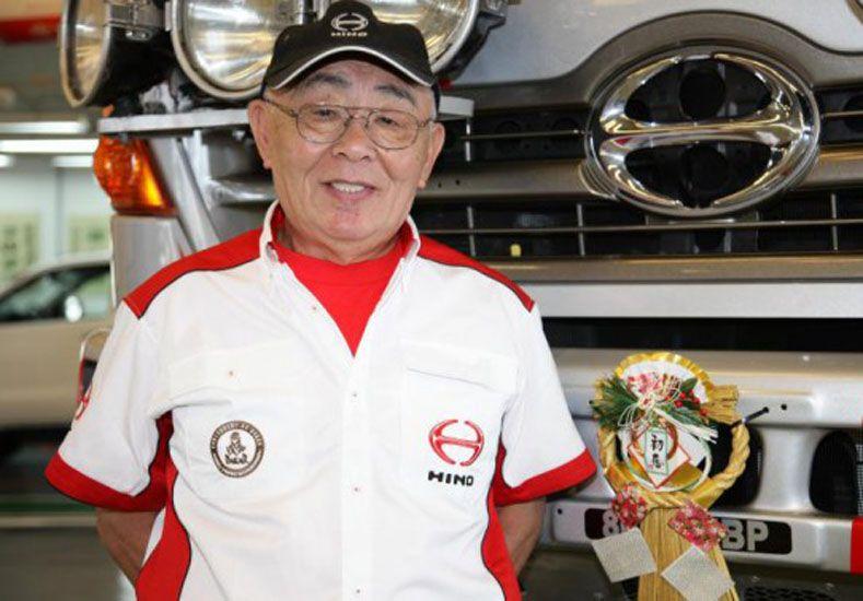 Japonés de 75 años correrá en el Dakar