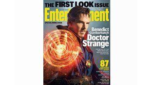 Las primeras imágenes de Cumberbatch como el Dr Strange de Marvel
