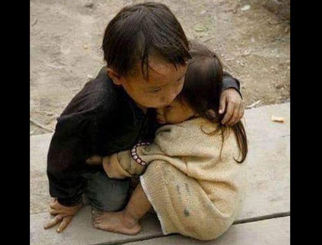 La imagen no fue tomada después del terremoto en Nepal