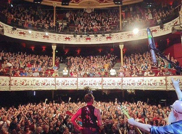 La foto del concierto el día del ataque terrorista