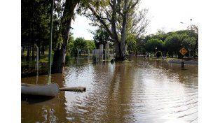 El río Gualeguaychú también sobrepasó el nivel de alerta