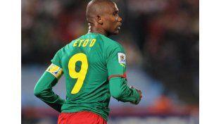 Samuel Etoo quiere jugar en Sudamerica