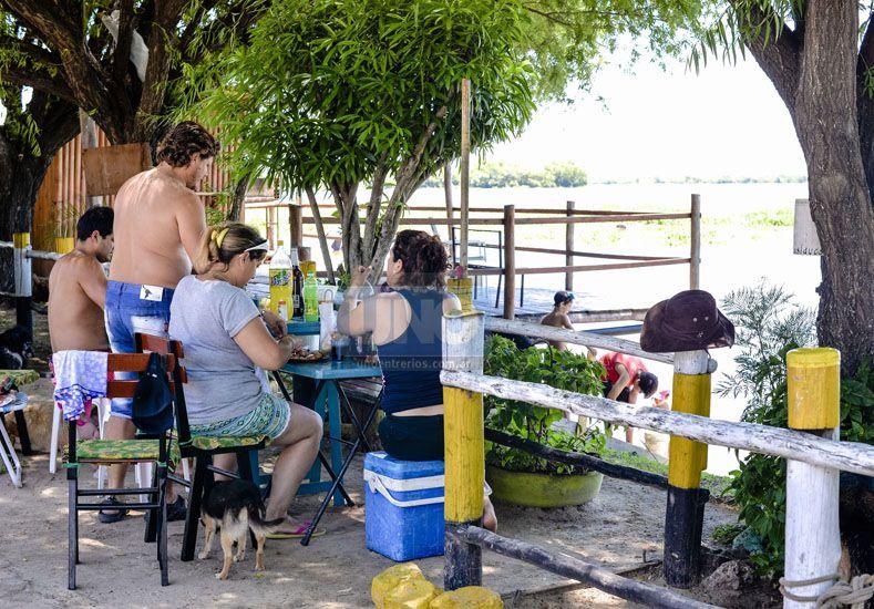 En Puerto Sánchez respetan las decisiones del río