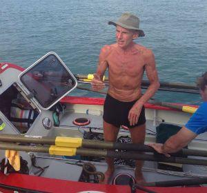 Beeden en una fotografía a pocas millas náuticas de la costa de Cairns