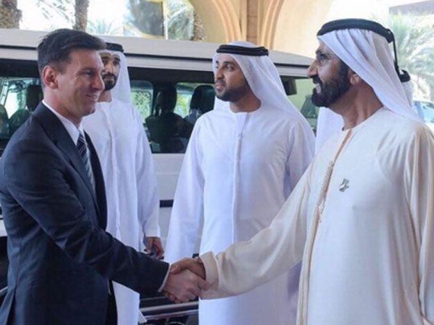 Messi es la gran sensación de los Globe Soccer Awards en Dubai
