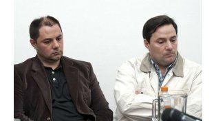 Cristian y Martín Lanatta durante el juicio por el triple crimen.
