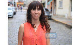 Palavecino será voluntaria de un Juego Olímpico. (Foto UNO/Juan Ignacio Pereira)