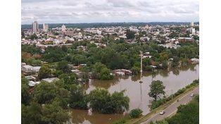 Sin mejoras. El río Uruguay en La Histórica superará la marca de 8
