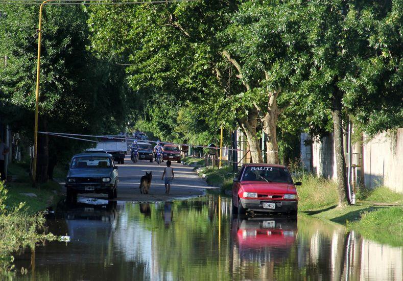 Gualeguaychú. El río sube.