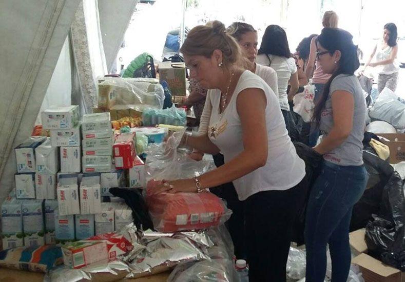 La situación de los inundados despierta la solidaridad de los argentinos