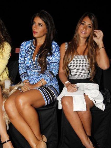 La mujer de Lio Messi y sus amigas