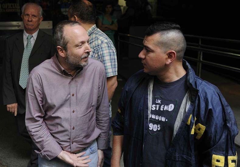 Martín Sabbatella dejó el edificio de la Afsca