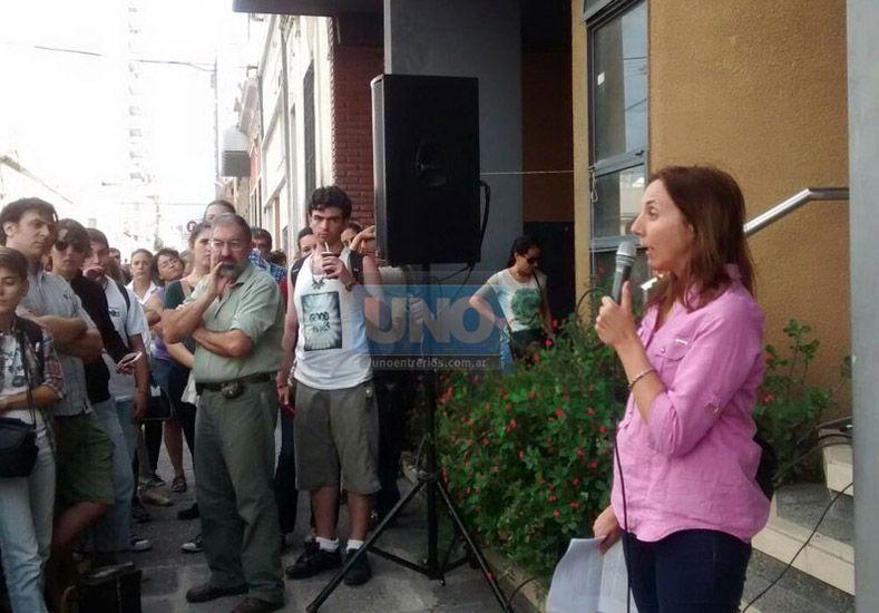 Paranaenses se manifestaron en contra de la intervención de AFSCA