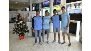 Sus primeros pasos los dieron en el Bicho y sueñan con lograr el ascenso la próxima temporada. (Foto UNO/Mateo Oviedo)