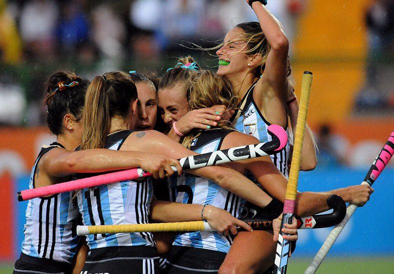 Las Leonas con vistas a los Juegos Olímpicos