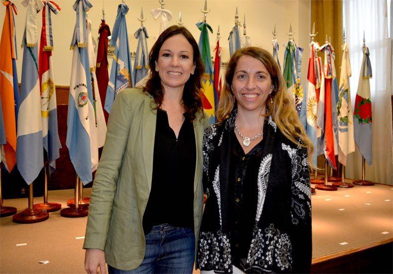 Stanley (izquierda) junto a Stratta (derecha). (Foto: Prensa Gobernación)