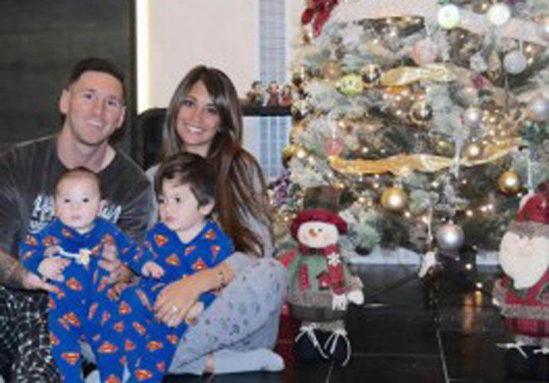 Messi llegó a Rosario