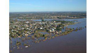 Crecida del río Uruguay: Concordia es la ciudad más afectada con más de 850 evacuados