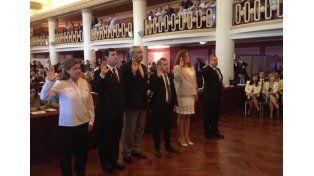 Cristian Bello informó que los parlamentarios serán recibidos por la canciller Susana Malcorra