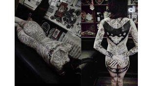 Cande Tinelli reveló cuál es la parte del cuerpo que nunca se tatuaría