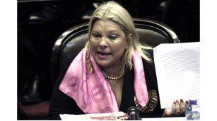 Elisa Carrió busca evitar designación de jueces por DNU