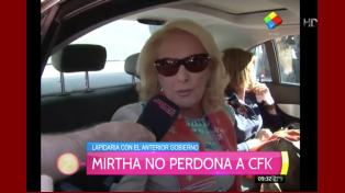 Mirtha Legrand no perdona a la ex Presidenta: Jamás le pediría disculpas a Cristina