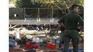 Acusados. El querellante anunció que apuntará sospechas contra los jefes de Gendarmería. Foto: Télam